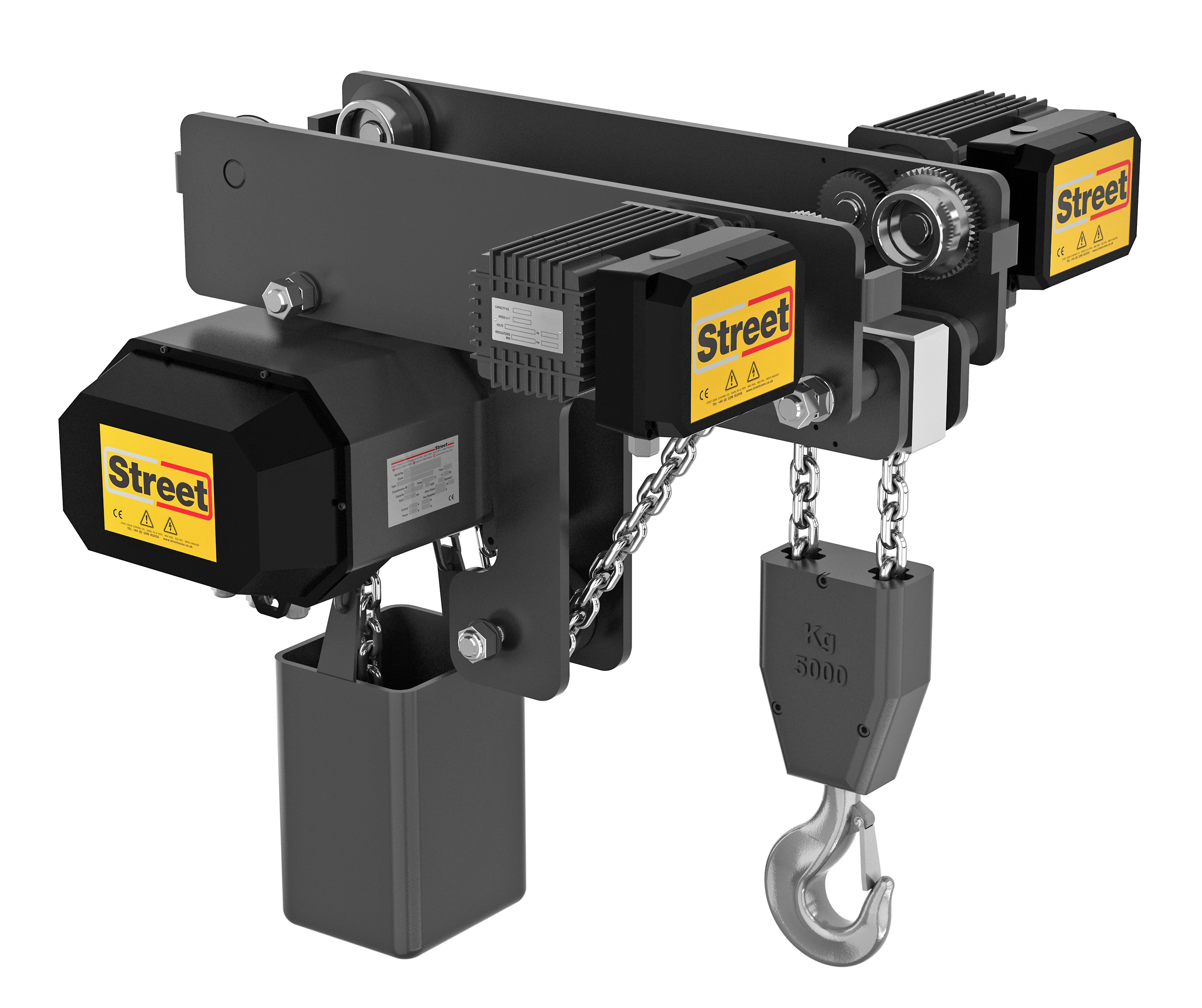 Street Crane Introduces New Electric Chain Hoist
