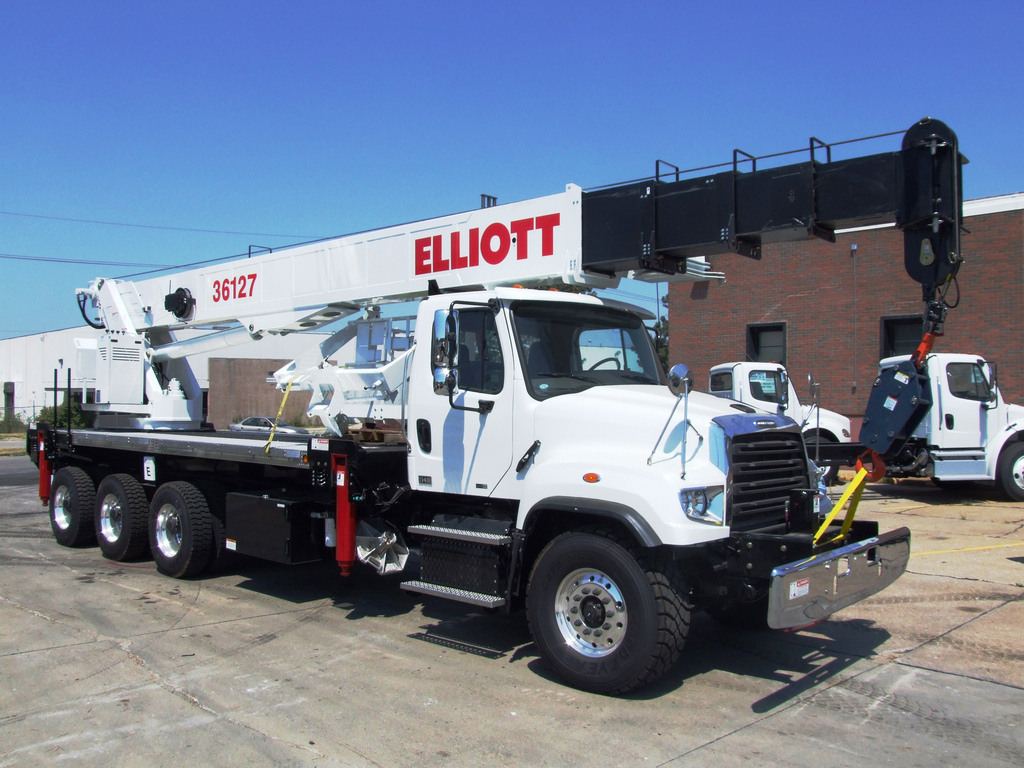 Heavy Duty Truck For Sale Ohio >> Elliott Boom Truck For Sale | Autos Post