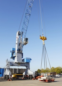 Terex Harbor Crane copy