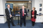 Chris Newton (Group Technical Director), Jon Templeman (Global CEO), Rosie Winterton (MP for Doncaster Central)