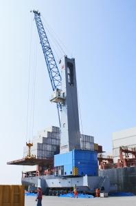 Terex Harbour Crane