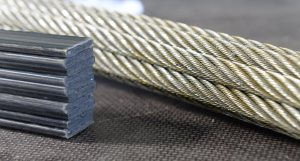KONE-UltraRope-and-steel-rope